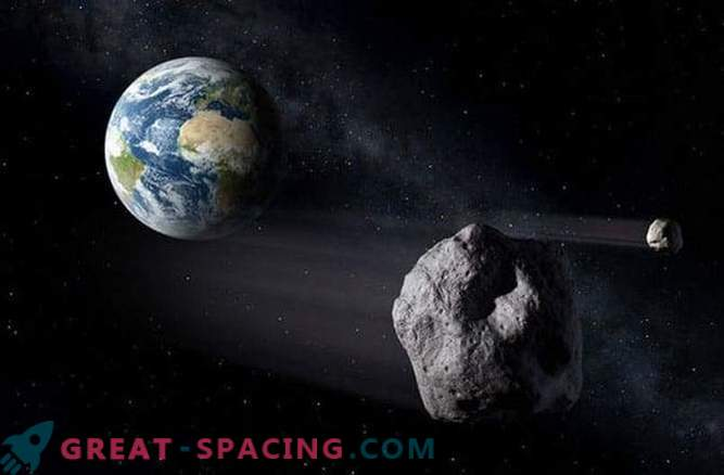 An asteroid the size of a small mountain flew past the Earth on Monday (January 26).