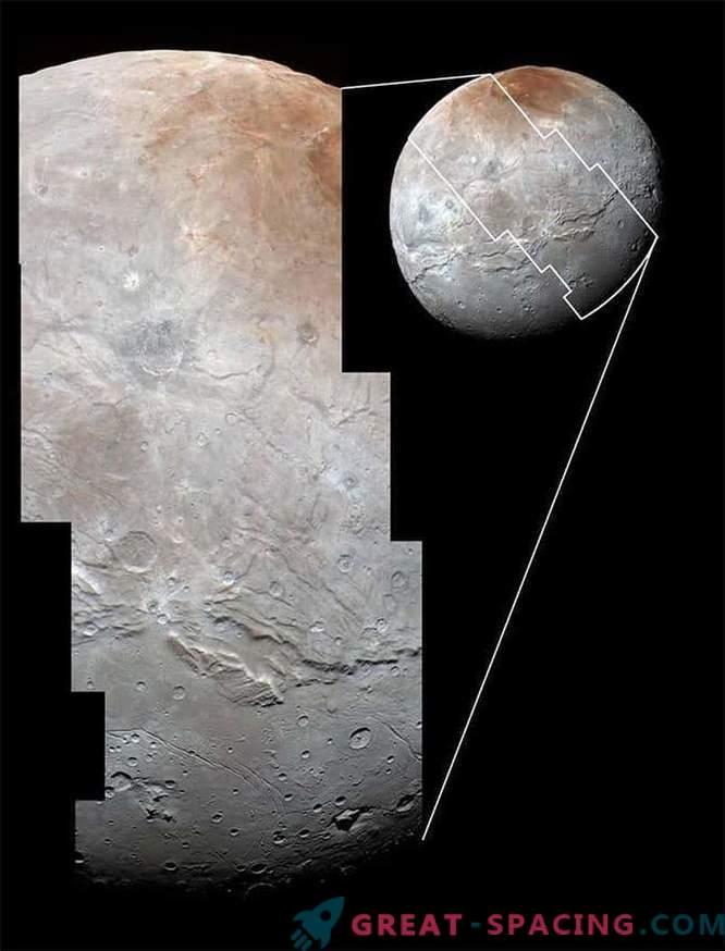 Pluto's satellite Charon: battered, rumpled, but beautiful