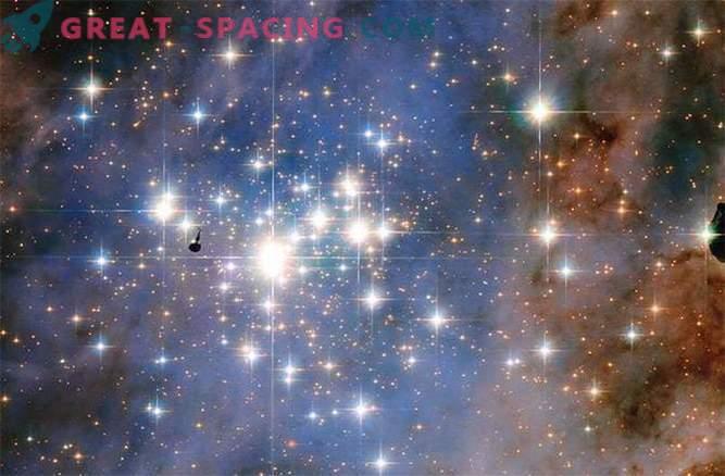 Hubble saw star diamonds
