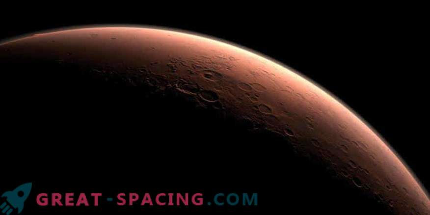 The closest approach of Mars to Earth in 15 years