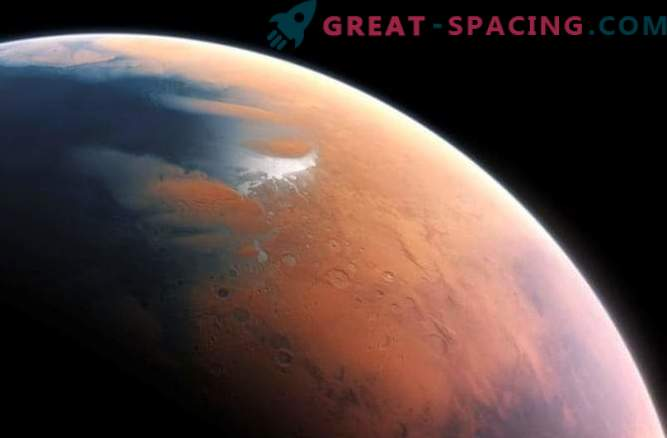 Atomic oxygen found on Mars