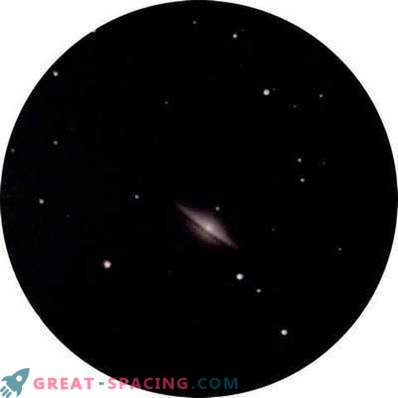 A look at the Sombrero galaxy from the cities