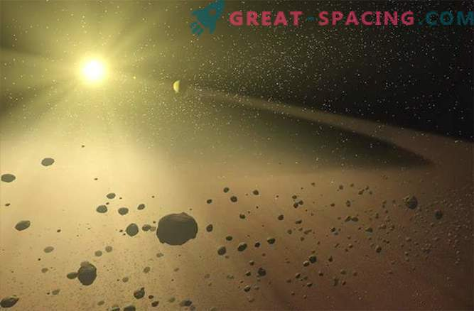 Why some asteroids behave like comets: Photos