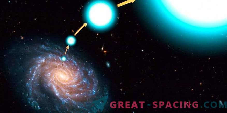 Galactic Escape: where the hyper speed star escaped