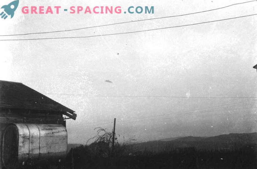 Incident in Oregon - 1950. Could a farmer take a picture of an unidentified object