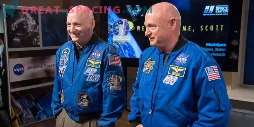 New data on experiments with twin astronauts