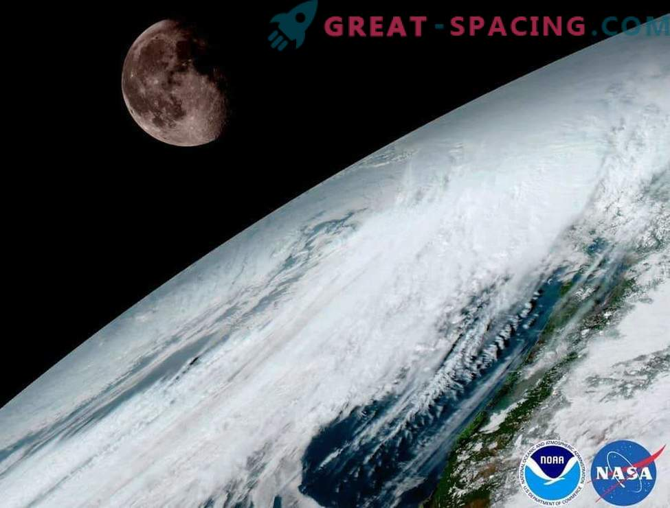 Stunning view of the planet from a new meteorological satellite