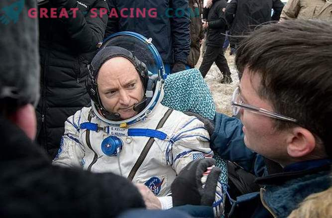Scott Kelly spoke about his impressions after a year in space