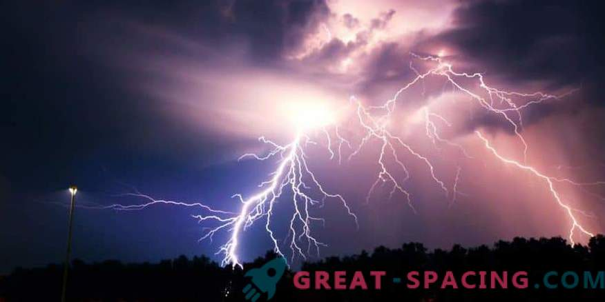 Incident in Austria - 2016. Could lightning strike an unidentified object