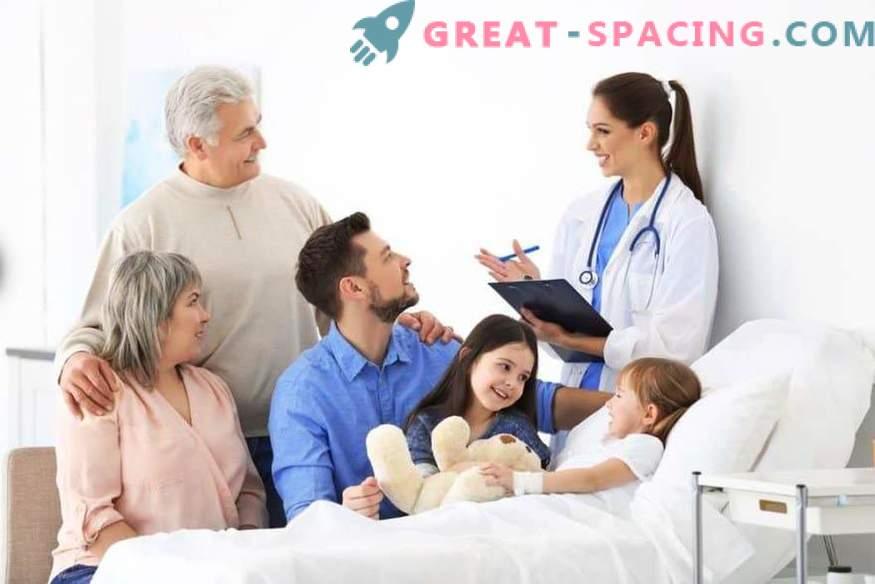 Помощ за възрастни: обадете се на лекар, клиника за възрастни, влизане в зъболекар онлайн