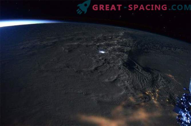 Astronauts captured stunning views of the blizzard raging on the US East Coast