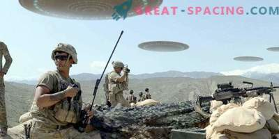 Unidentified objects in Afghanistan. Witness testimony in a 1981 document