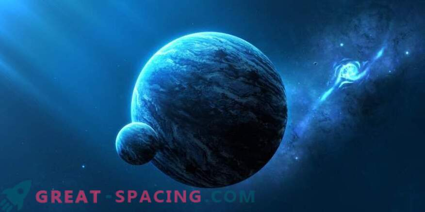 Beautiful and endless space at a glance