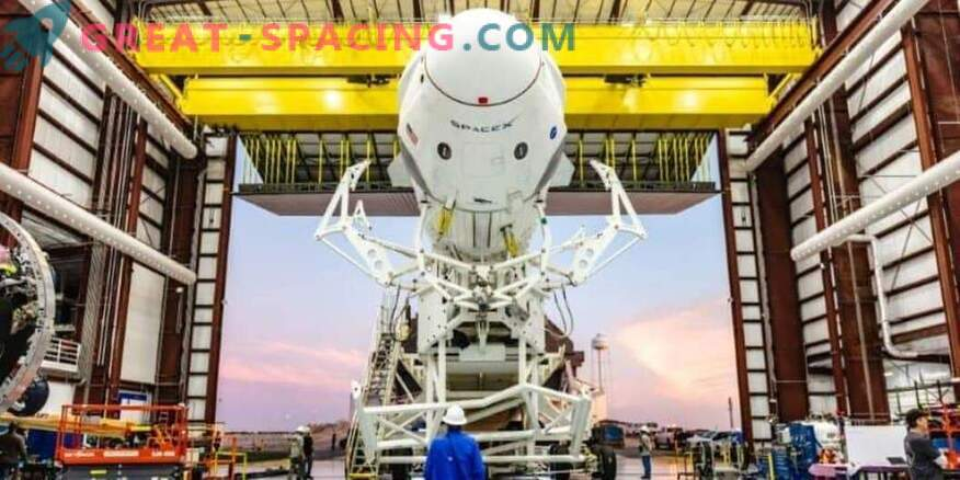 Green light for testing SpaceX crew spacecraft