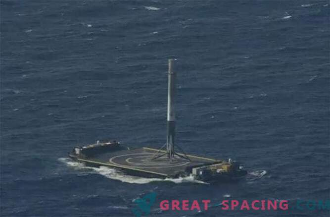 Success! SpaceX Falcon 9 rocket managed to land in the ocean
