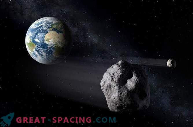 Thirty-meter asteroid will fly next to Earth next month.