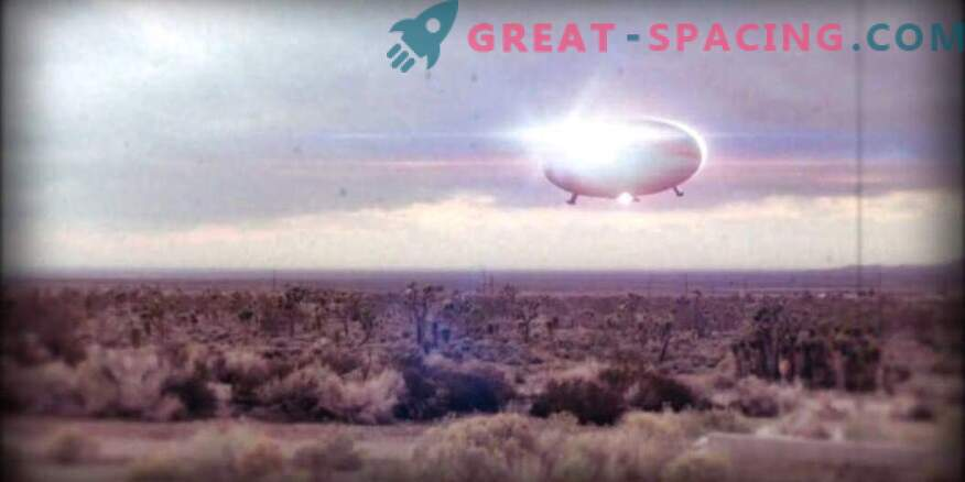 Incident in New Mexico - 1976. What kind of strange lights witnesses saw near the Air Force base