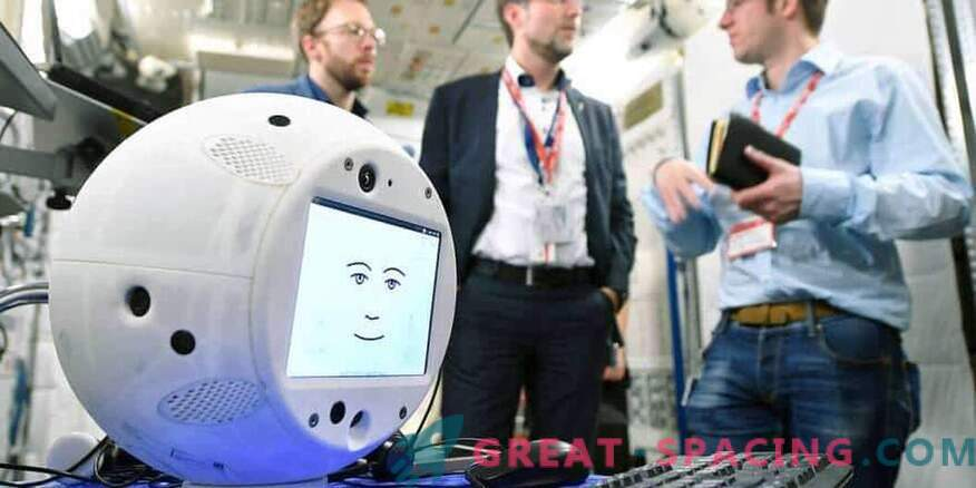 A robot with AI plans to invade space