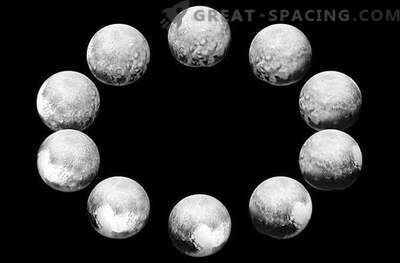 Mission New Horizons showed a full day of Pluto and Charon