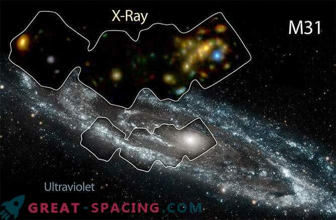 The Andromeda Galaxy is heated by X-ray