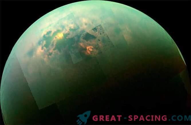 Cassini saw a sunny day on the seas of Titan