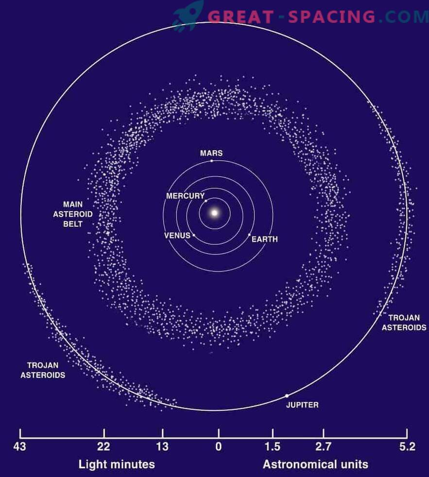 The origin of the meteorite indicates a possible new asteroid