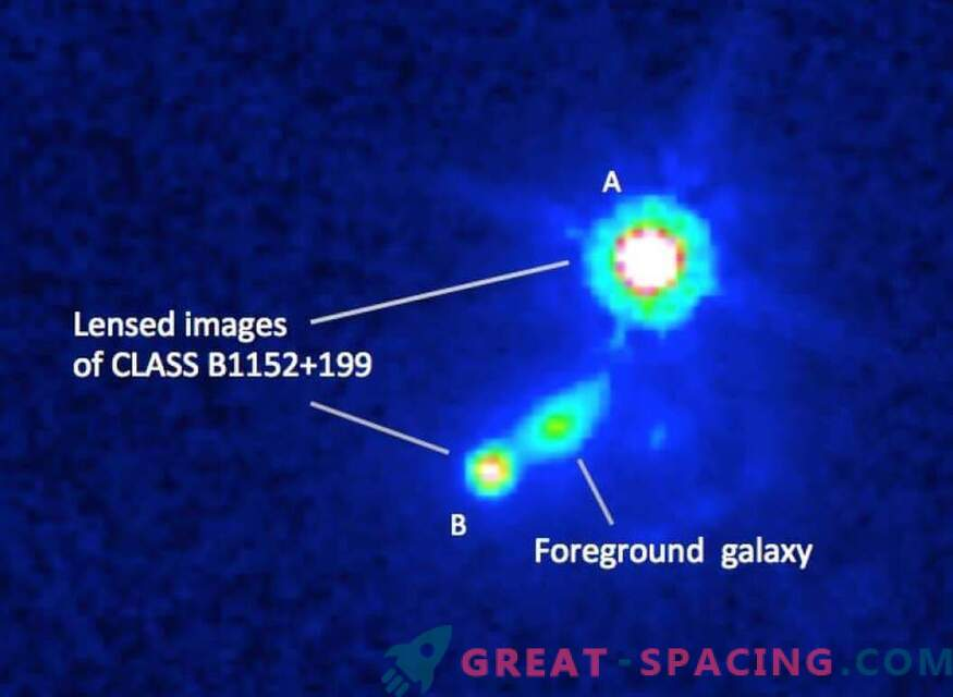Scientists Find the Magnetic Field of a Remote Galaxy