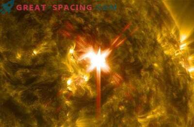 The most powerful solar flare eclipsed the radio