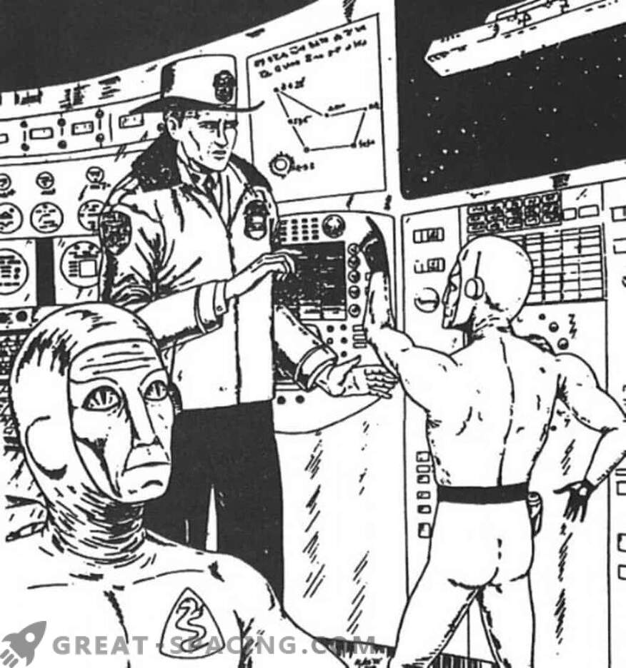 Incident in Nebraska - 1967. The policeman believes that he was on a spaceship