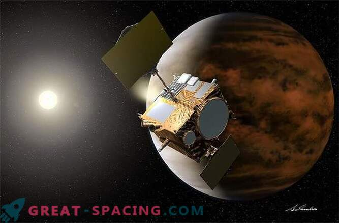 The rescued Japanese probe received another chance for research in the orbit of Venus