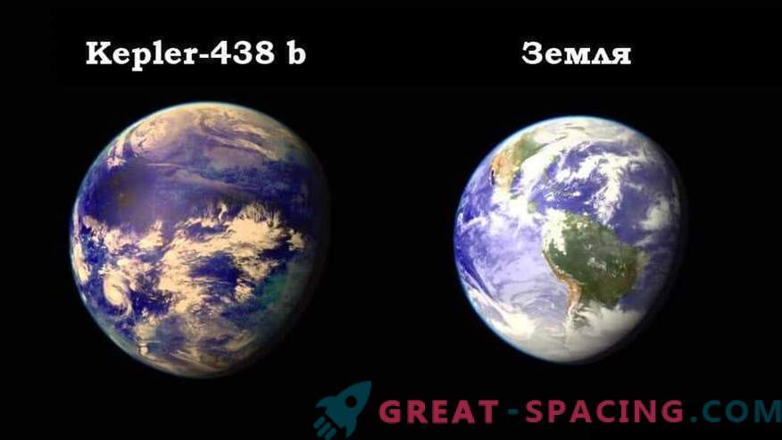 Astronomers discovered a copy of the Earth at a distance of 470 light years