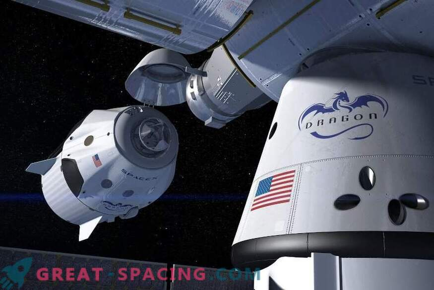 Another American space taxi will start in April